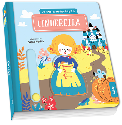 Cinderella - Auzou animated fairy tales