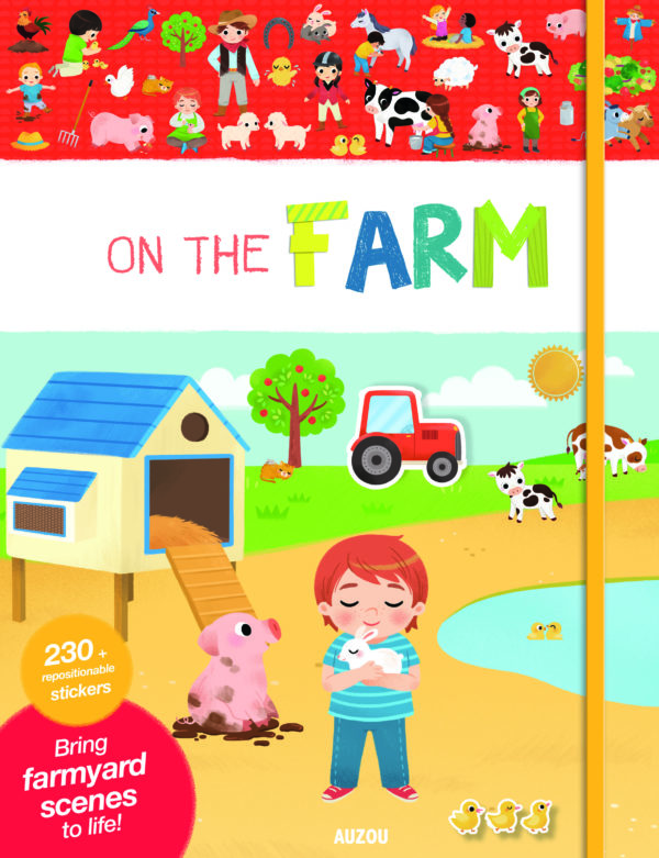 On the farm - AUZOU