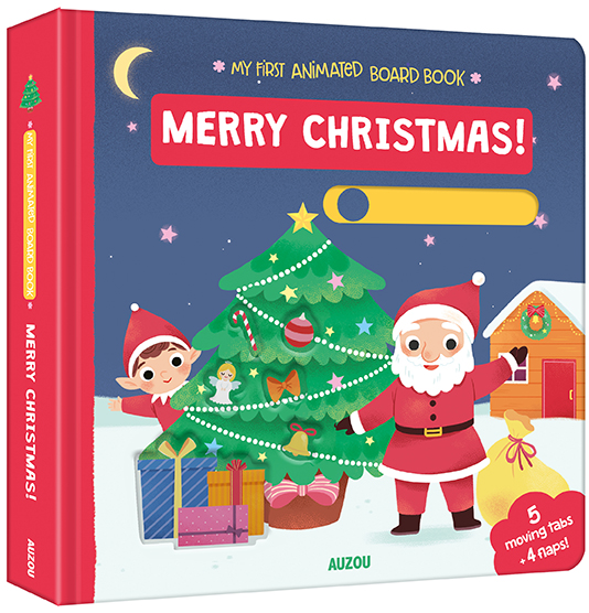 Merry Christmas! Animated Board Book Auzou
