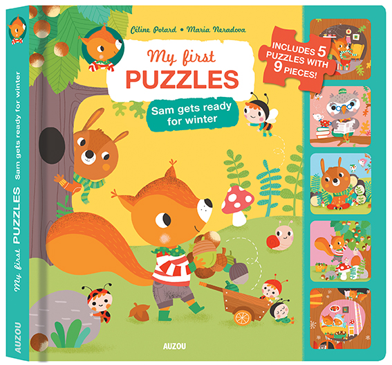Sam gets ready for winter - puzzle book