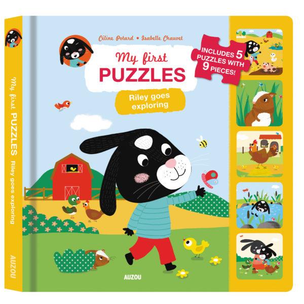 Riley goes Exploring - Auzou Puzzle Books