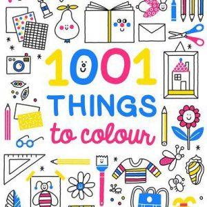 1001 Things to Colour - Auzou