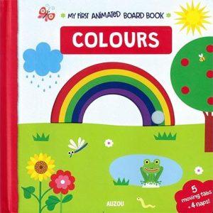 Colours - Animated Board Book Auzou