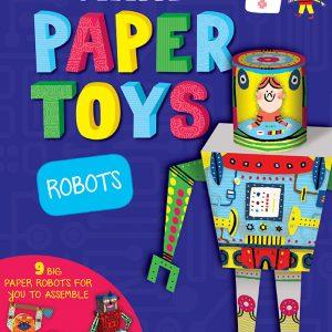 Robots - Paper Toys Auzou