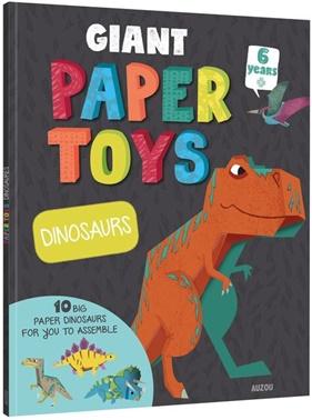 Paper Toys Dinosaurs Auzou