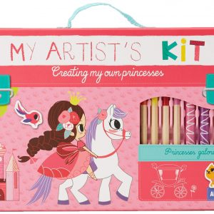 Create Princesses Artists Kit Auzou