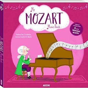 Mozart Music Book Auzou